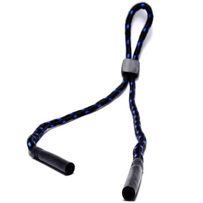 Round Lanyard Sunglass Cords with Non Slip Rubber Tips - Sunglass Spot