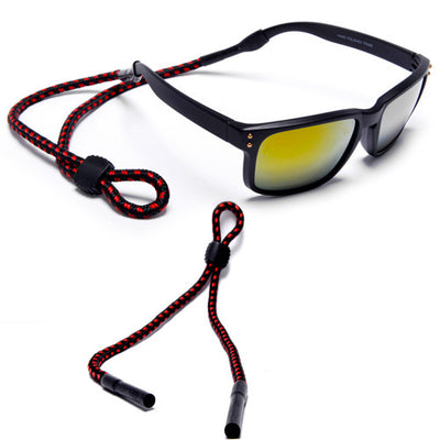 Round Lanyard Sunglass Cords with Non Slip Rubber Tips