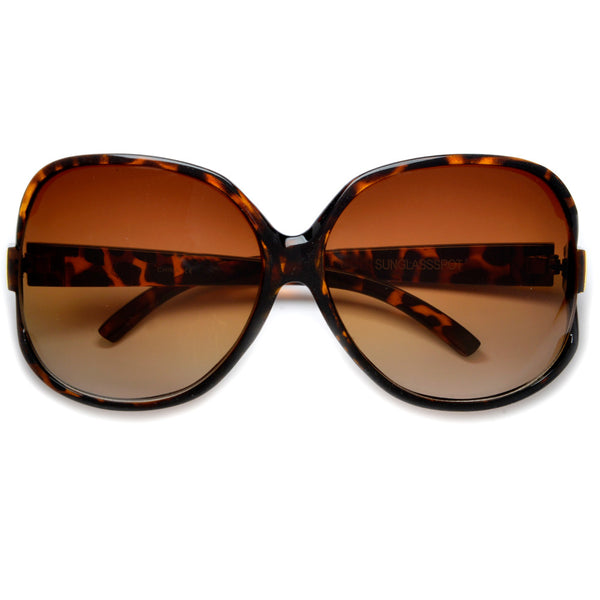 Vintage Classic Oversized Jackie O Fashion Sunglasses