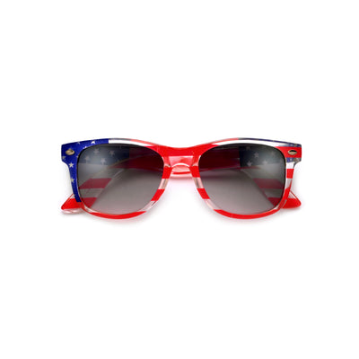 Kids Patriotic Stars and Stripes Classic Sunglasses - Sunglass Spot
