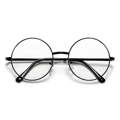 Vintage Lennon Inspired Round 51mm Clear Lens Eyewear
