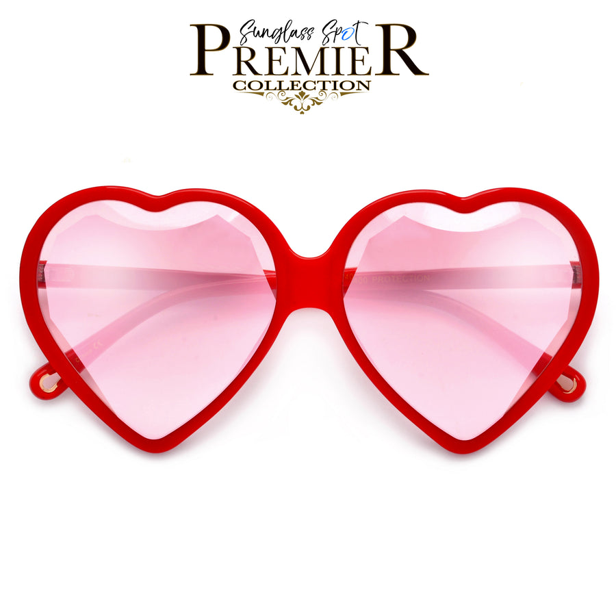 Premier Collection-Captivating Heart Shaped Diamond Feature Sunnies