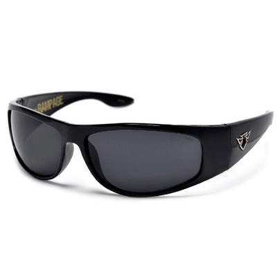 Modern Design Large Men's Fit Dark Wrap Around Shades