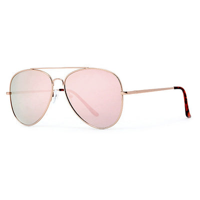 62mm Rose Gold Pink Ultra Chic Fashion Aviator