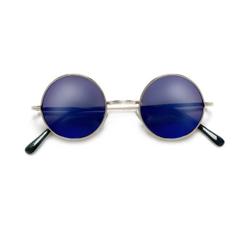 Iconic Lennon Inspired 41mm Round Mini Spectacle Sunglasses