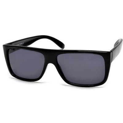 Fresh Squared Off Flat Top Stylish Street Scene Shades