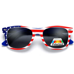 Polarized Anti-Glare American Flag Patriotic Sunglasses