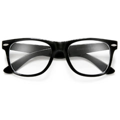 Original Classic 80's Inspired Clear Lens 80's Style Eyewear