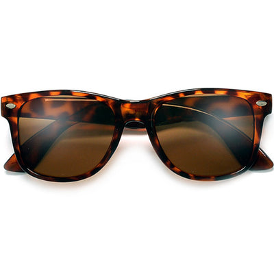 80s Iconic Tortoise Frame 80's Style Sunglasses - Sunglass Spot