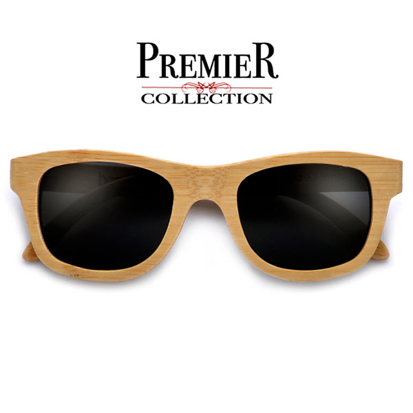 Premier Collection-Polarized Genuine Handmade Bamboo Sunglasses