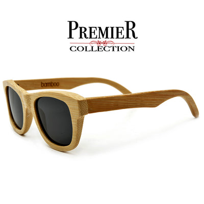 Premier Collection-Polarized Genuine Handmade Bamboo Sunglasses - Sunglass Spot