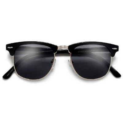 Classic Original Half Frame Semi-Rimless Sunglasses