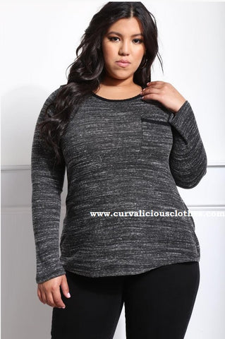 Maddie Top - Charcoal