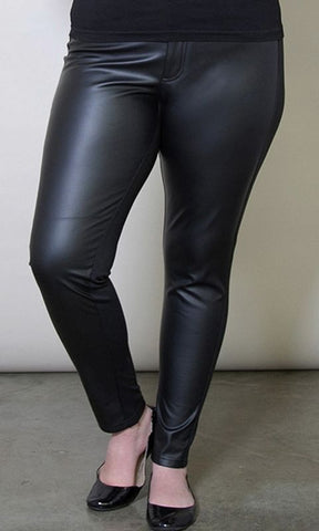 Palmer Faux Leather Jeggings