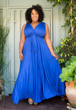 Eternity Convertible Maxi Dress - Royal Blue