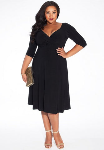 Francesca Dress - Black