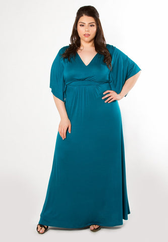 Joan Maxi Dress - Teal