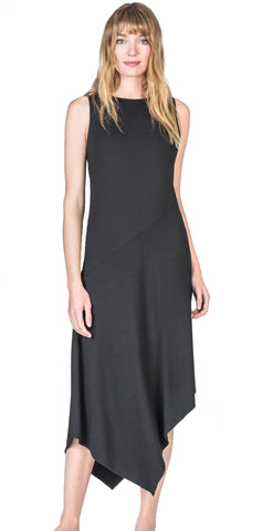 Asymmetrical Seamed Dress