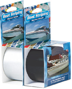 "Black Boat Striping Tape, 1/4"" x 50'"