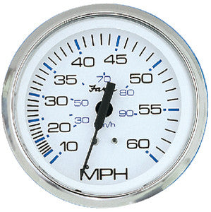 "Faria Chesapeake  SS 4"" Gauge - Mechanical Speedometer"