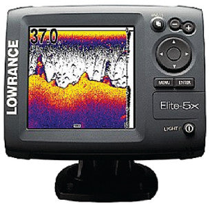Elite-5X Base US Fishfinder/Chartplotter