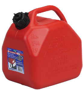 2.5 Gallon Red Jerry Can - Carb Compliant, Gas