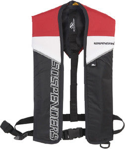 1271 - 24 Gram Red Manual Inflatable Vest