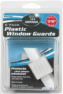 "1"" Plastic Window Guards, 6/Card"