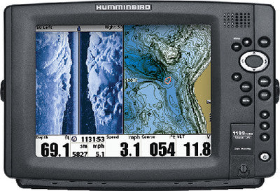 1199ci HD SI Fishfinder/GPS/Chartplotter w/Side & Down Imaging<sup>&reg;</sup>