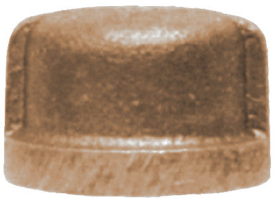 1-1/4 Bronze Pipe Cap