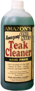 Amazon 1 Step Teak Cleaner, Quart
