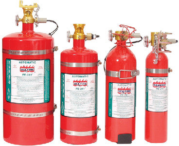 100 cu.ft. FE-Series Automatic Fire Extinguishing System