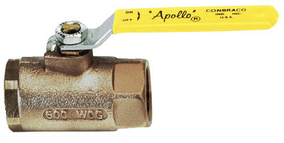"1-1/4"" Ball Valve w/ SS Lever"