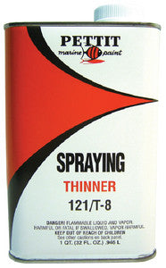 121/T-8 Spraying Thinner-Quart
