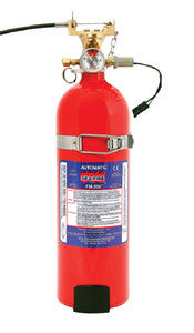 FM-200 Manual/Automatic Fire Extinguisher System, 25Cu Ft