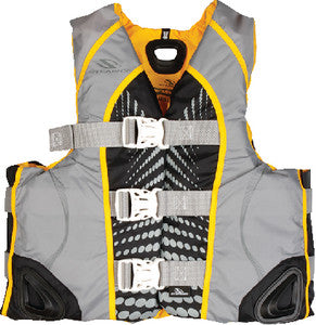 WOMENS ILLUSION SERIES V-FLEX NYLON VEST (STEARNS)