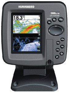 386CI DI COMBO Dual Beam Color Fishfinder/GPS/Chartplotter w/Down Imaging