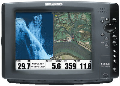 1158C DI Combo Fishfinder/GPS/Chartplotter w/Down Imaging<sup>®</sup>