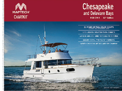 Chesapeake and Delaware Bays Chart Kit