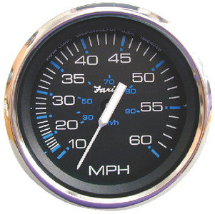 "Faria Chesapeake  SS 4"" Gauge - 7000 RPM Tachometer With System Check Indicator (Gas) (J/E Outboard)"