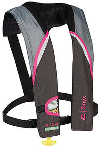 A-24 In-Sight Automatic Inflatable Life Jacket, Pink