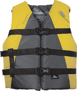 YOUTH EXTRA LONG WATERSPORT NYLON VEST(STEARNS)