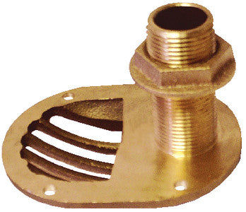 "1-1/2"" Scoop Thru-Hull w/Nut"