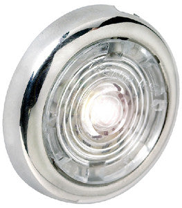 "1-1/2"" Red Interior/Exterior Light w/SS Bezel"