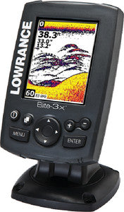 Elite 3X DSI Fishfinder w/Transducer & DownScan Imaging