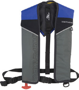 1431 - 24 Gram Auto/Manual Inflatable Vest, Blue