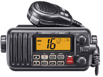 Icom VHF Marine Transceiver With Built-in Class D DSC
