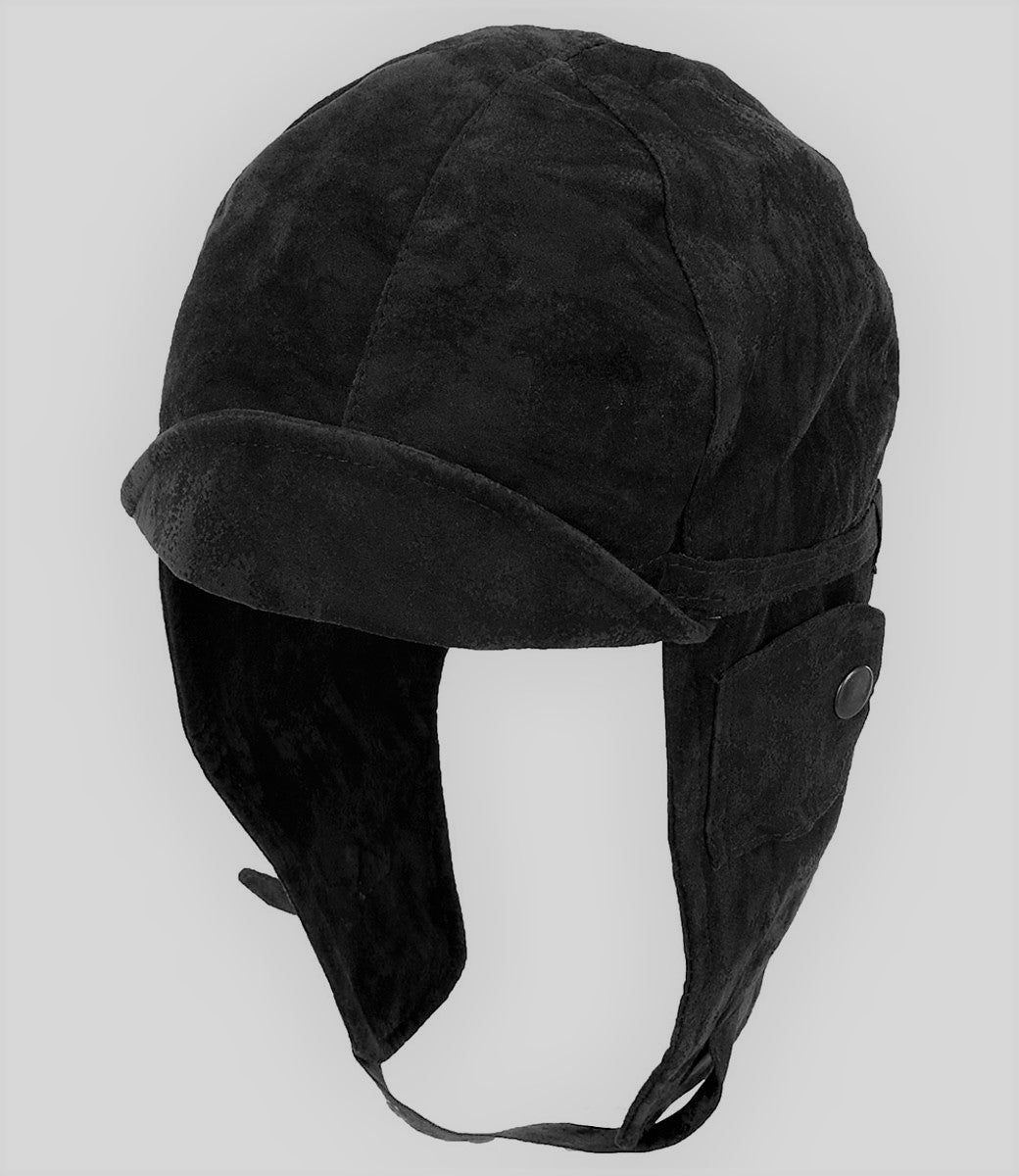 Aviator Hat: Black