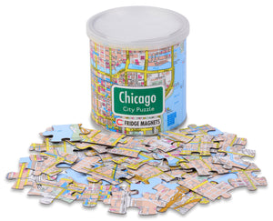 Chicago Magnetic City Puzzle