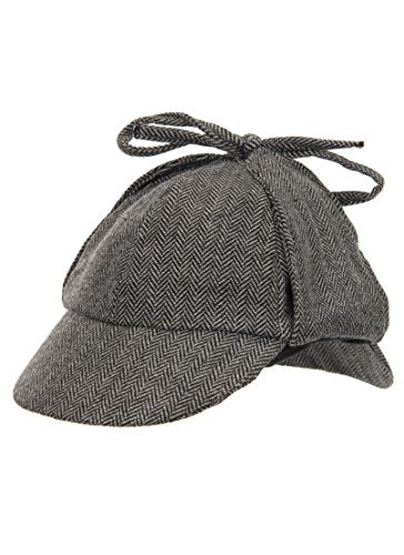 Sherlock Holmes Deerstalker Hat – Wicker Park Secret Agent Supply Co. 1bcfdf53b3e